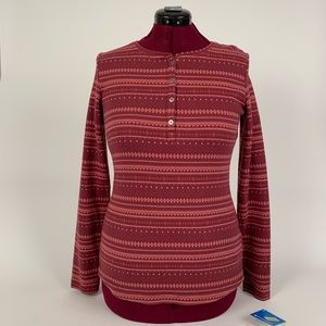 Columbia Hood Mountain Lodge Jacquard Henley